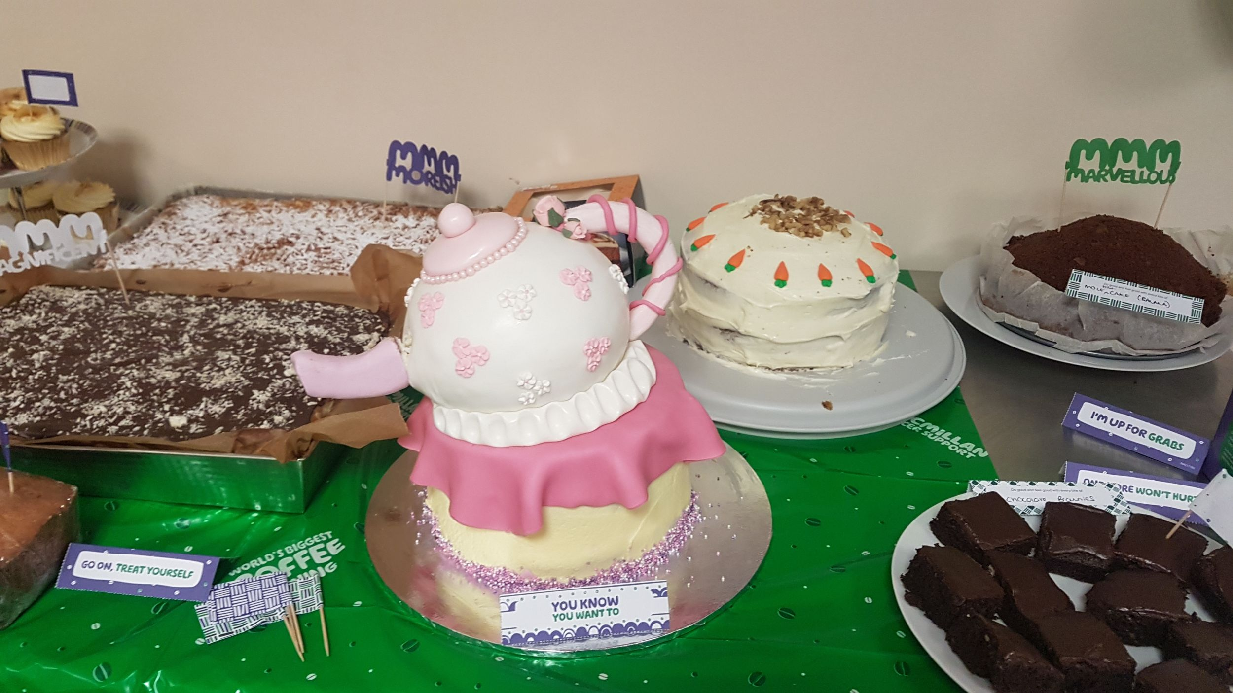 Design Plus MacMillan Coffee Morning