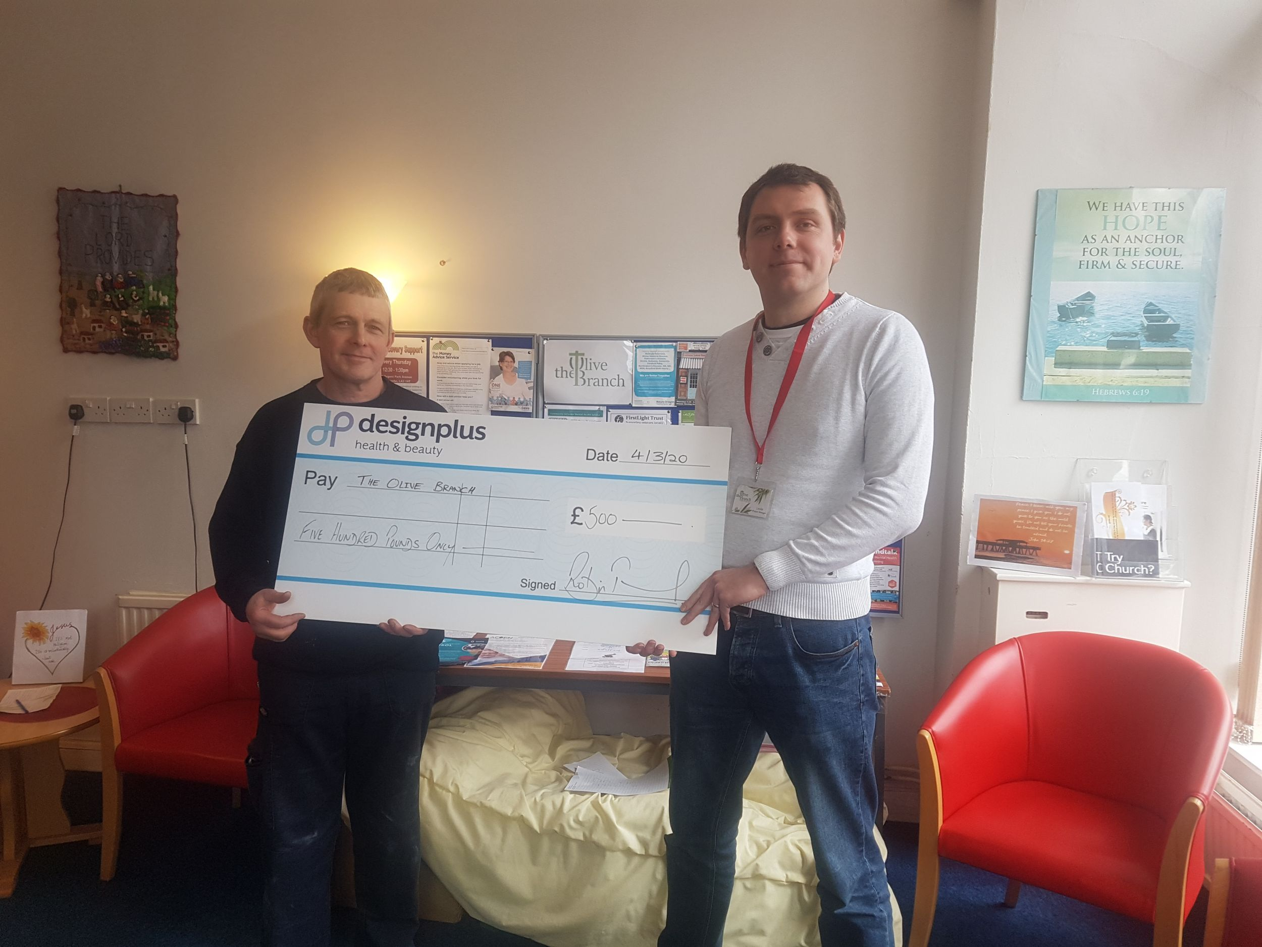 Design Plus Supports Local Charities